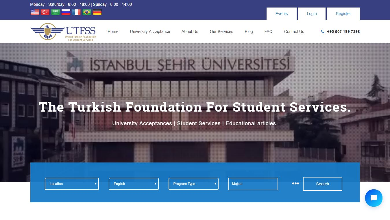 The Turkish Foundation For Student Services